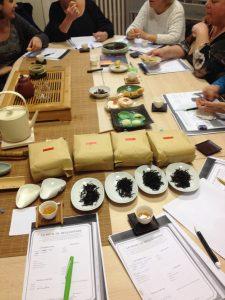 Cérémonie chinoise de thé wulong