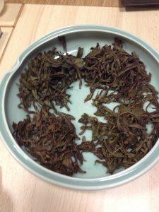 cérémonie chinoise thé wulong